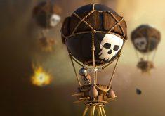 Balloons Clash of Clans 4K Wallpaper