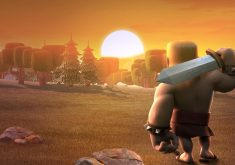 Barbarians Clash of Clans 4K Wallpaper