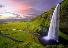 Beautiful Waterfall Landscape 8K Wallpaper