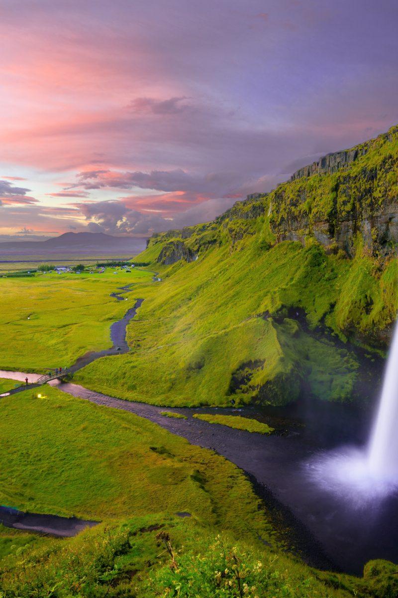 Beautiful Waterfall Landscape 8K Wallpaper - Best Wallpapers