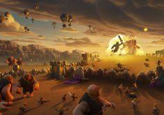 Clash of Clans Giants War 4K Wallpaper