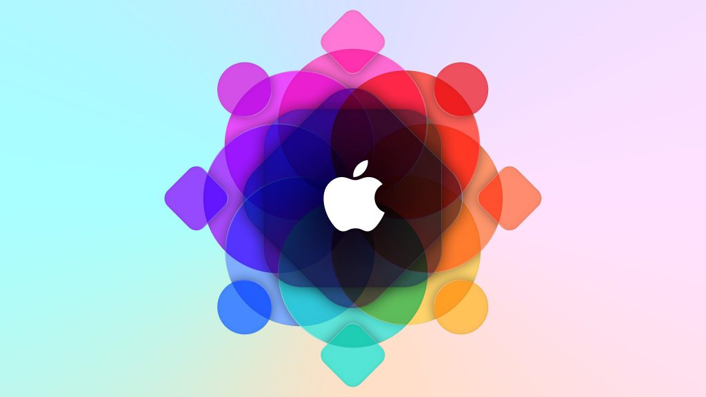 Colorful Apple Logo 5K Wallpaper