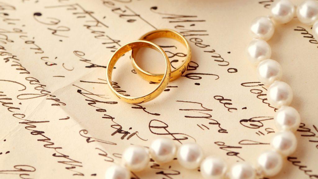 Engagement Rings Love 4K Wallpaper