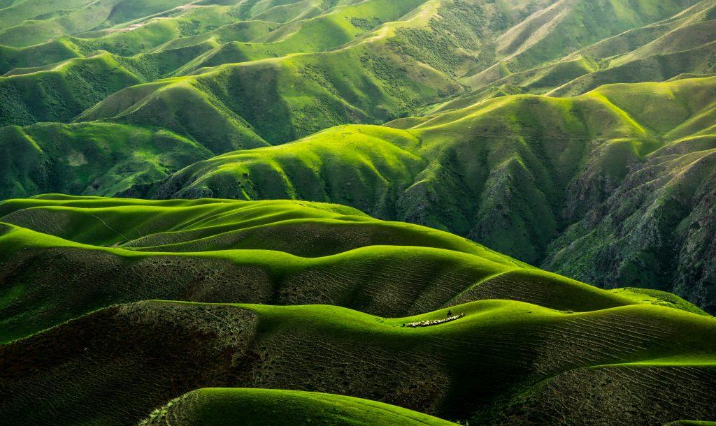 Green landscape hills 4k wallpaper best wallpapers - 4k wallpaper download ...
