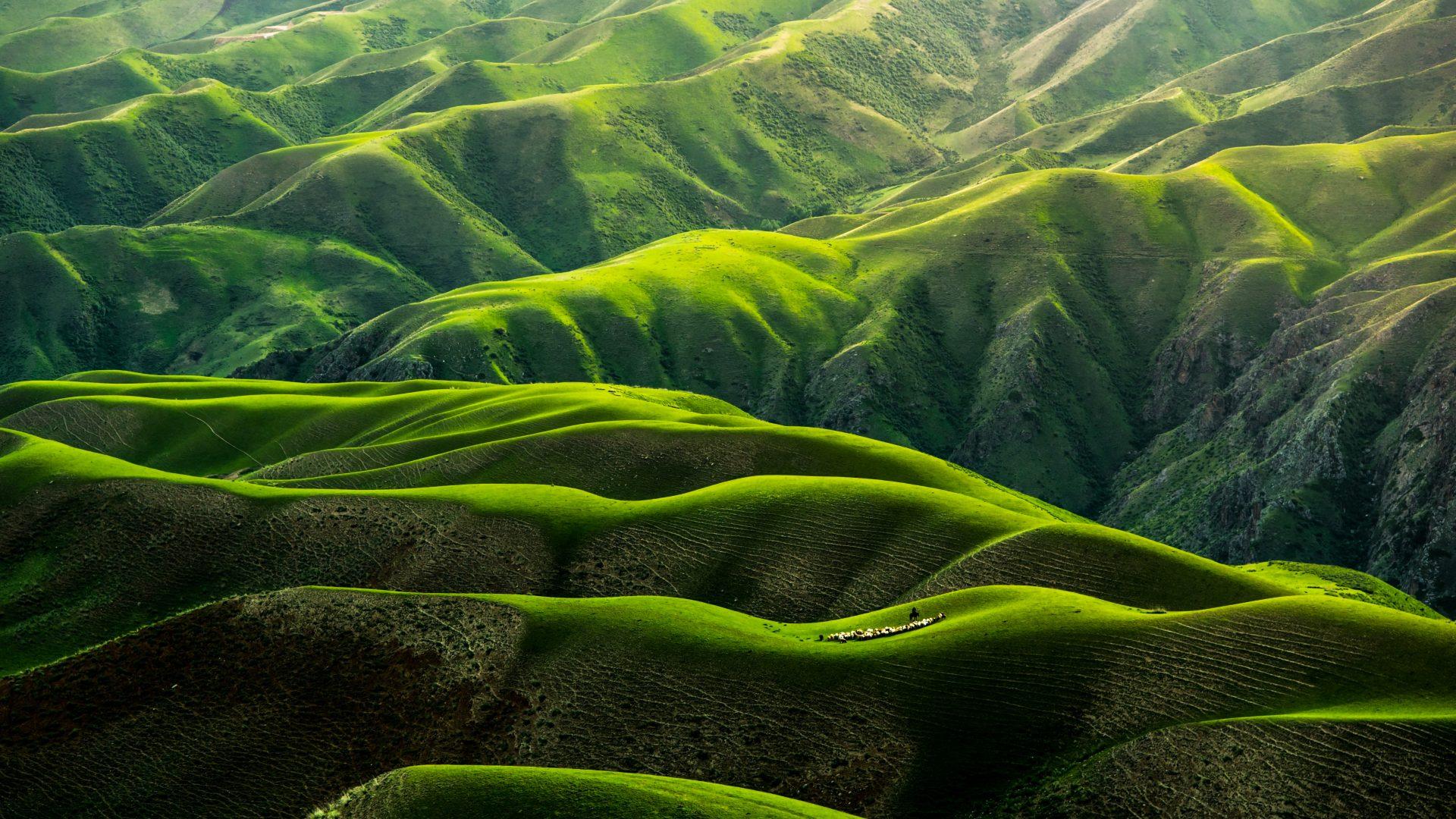 Green landscape hills 4k wallpaper best wallpapers - Home screen full hd wallpaper ...