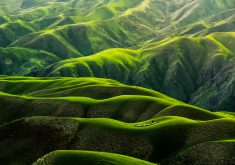 Green Landscape Hills 4K Wallpaper