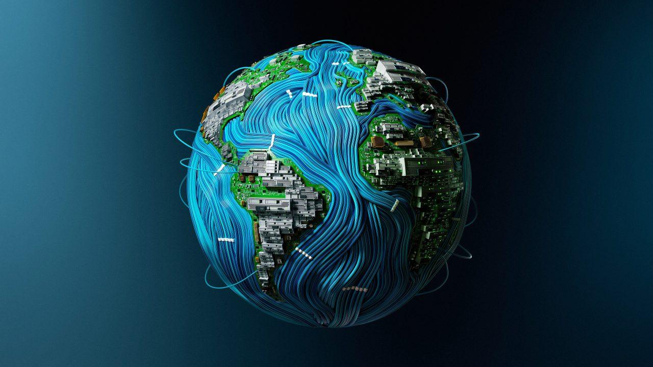 High Tech Earth 4k Wallpaper Best Wallpapers