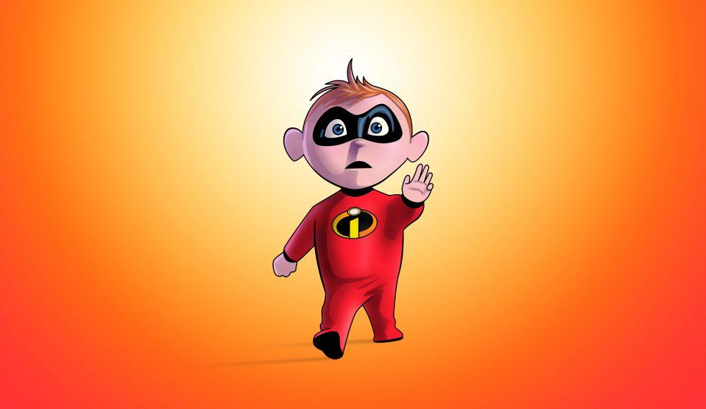 Jack-Jack Parr in the Incredibles 2 Artwork 5K Wallpaper