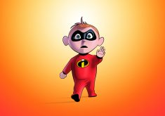 Jack-Jack Parr in the Incredibles 2 Artwork 5K Wallpaper