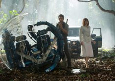 Jurassic World Fallen Kingdom Bryce Dallas Howard and Chris Pratt 5K Wallpaper