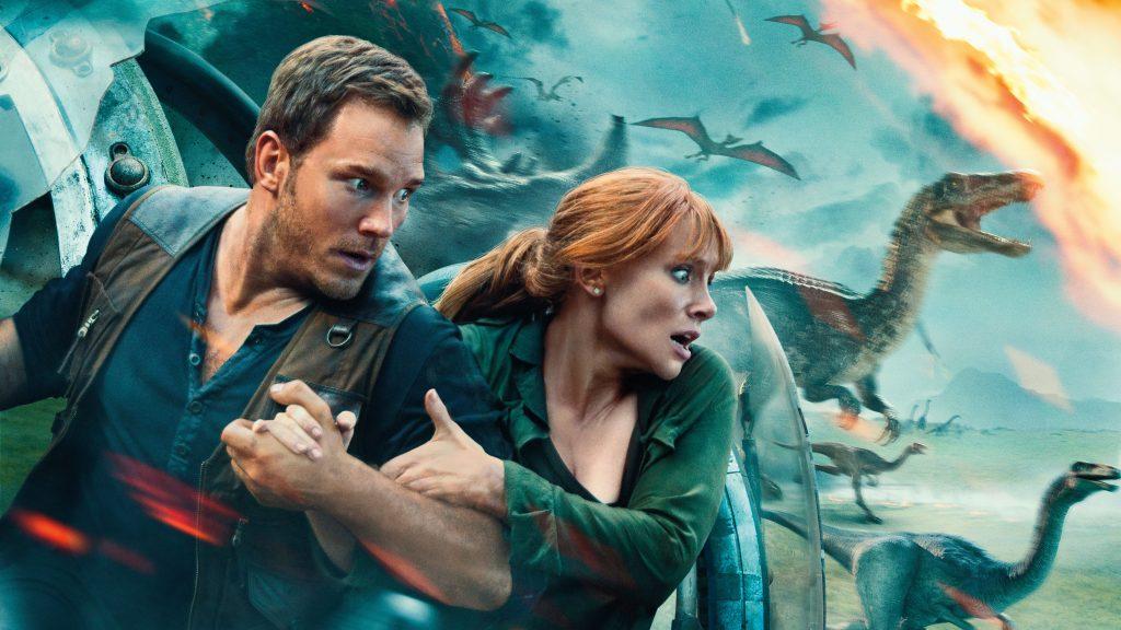 Jurassic World Fallen Kingdom Movie 5K Wallpaper