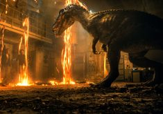 Jurassic World Fallen Kingdom Movie Fire 4K Wallpaper