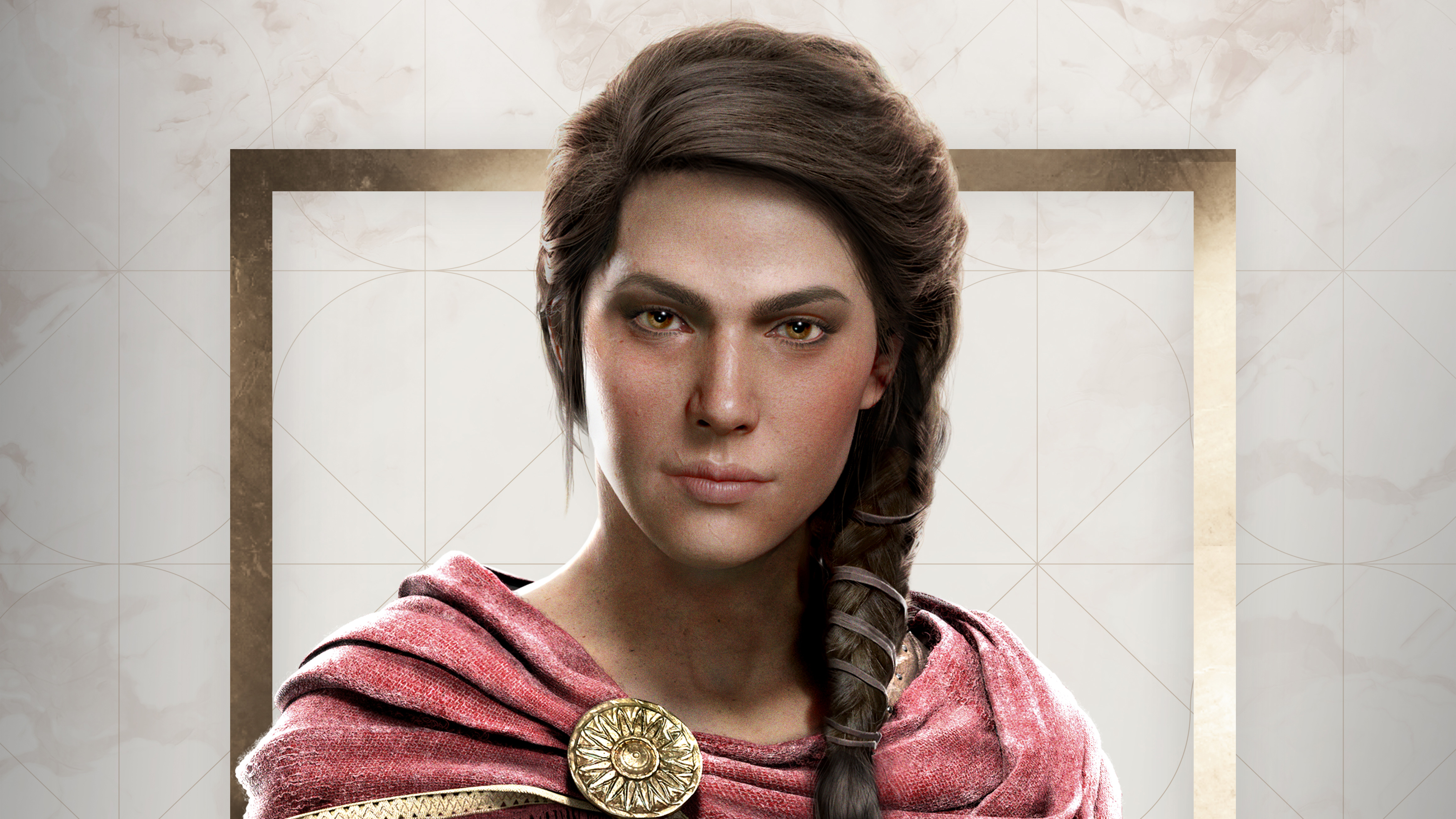 Kassandra Assassin S Creed Odyssey 4k Wallpaper Best Wallpapers