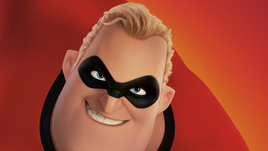 Mr Incredible in the Incredibles 2 4K Wallpaper
