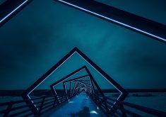 Night View Bridge 5K Wallpaper