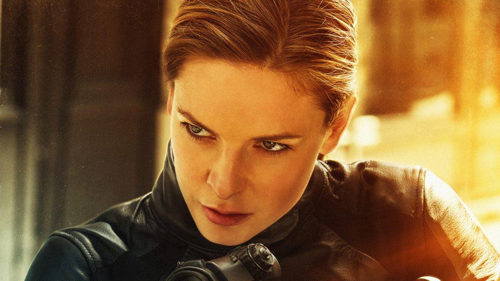 Rebecca Ferguson as Ilsa Faust in Mission Impossible – Fallout 4K Wallpaper