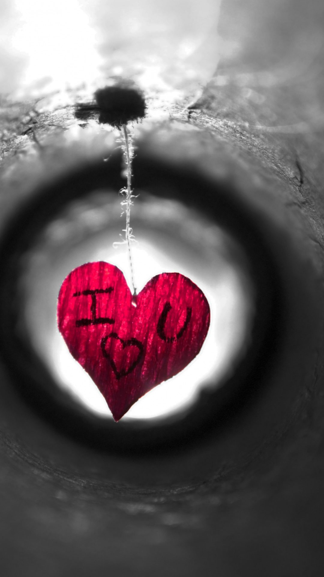 Red Heart I Love You 4K Wallpaper - Best Wallpapers