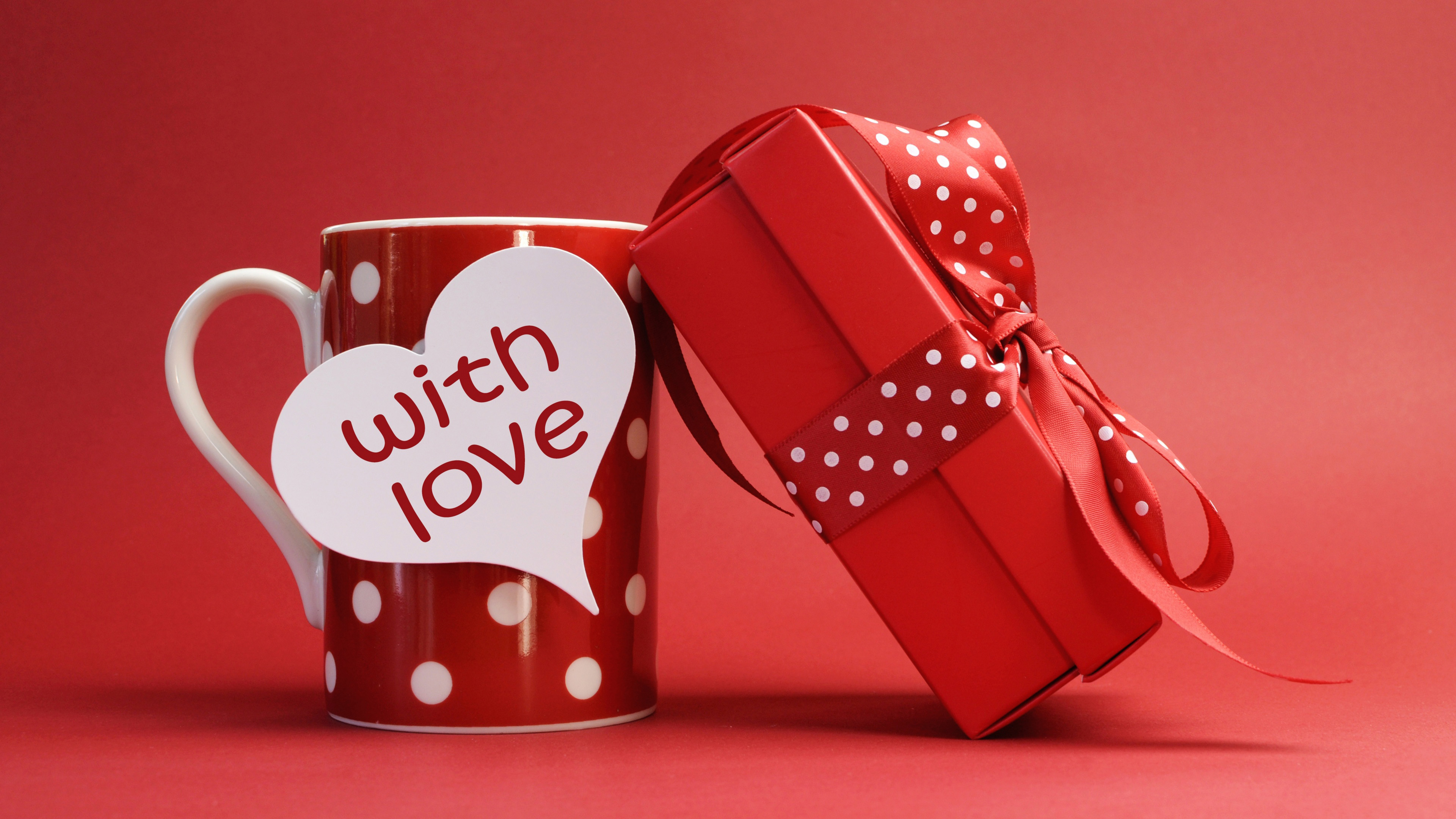 Red mug gift love 4k wallpaper best wallpapers choose your resolution negle Images