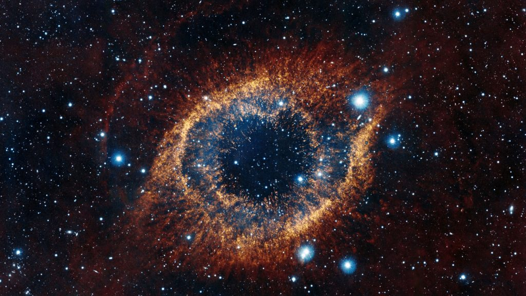 Space Eye Stars Galaxy 4K Wallpaper