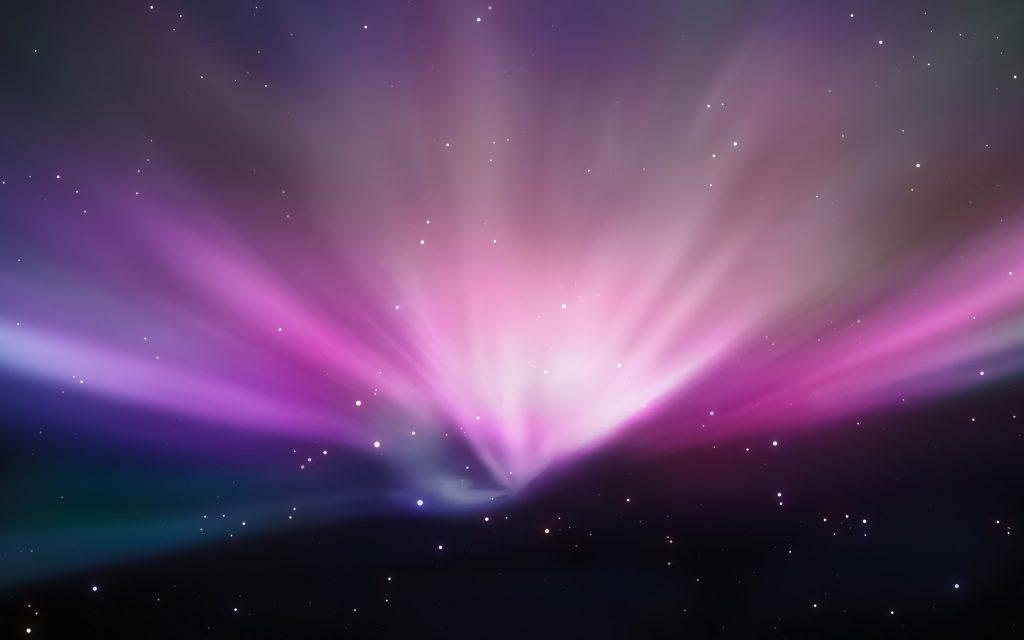 Space Purple Stars 5K Wallpaper