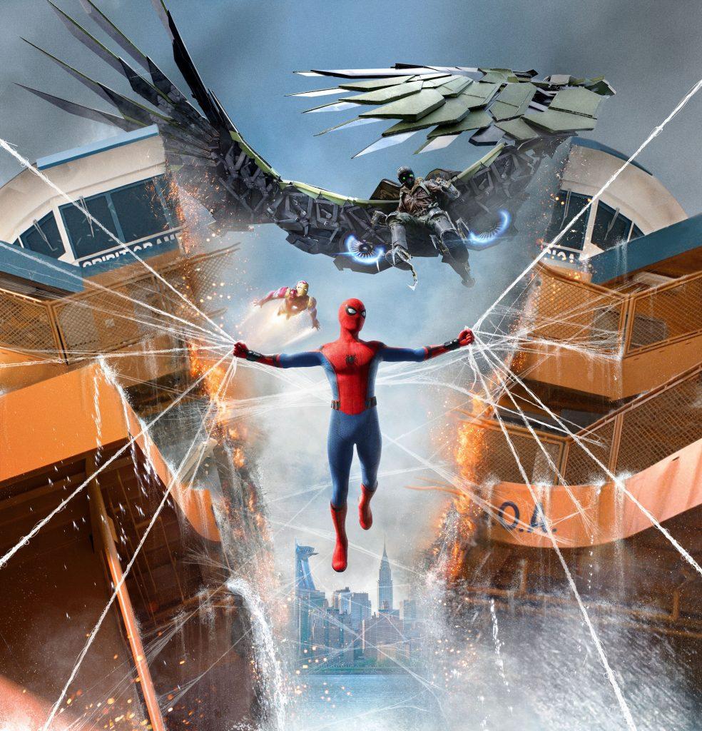 Spider Man Homecoming 4K Wallpaper