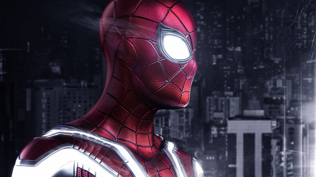 Spiderman Artwork 4K Wallpaper