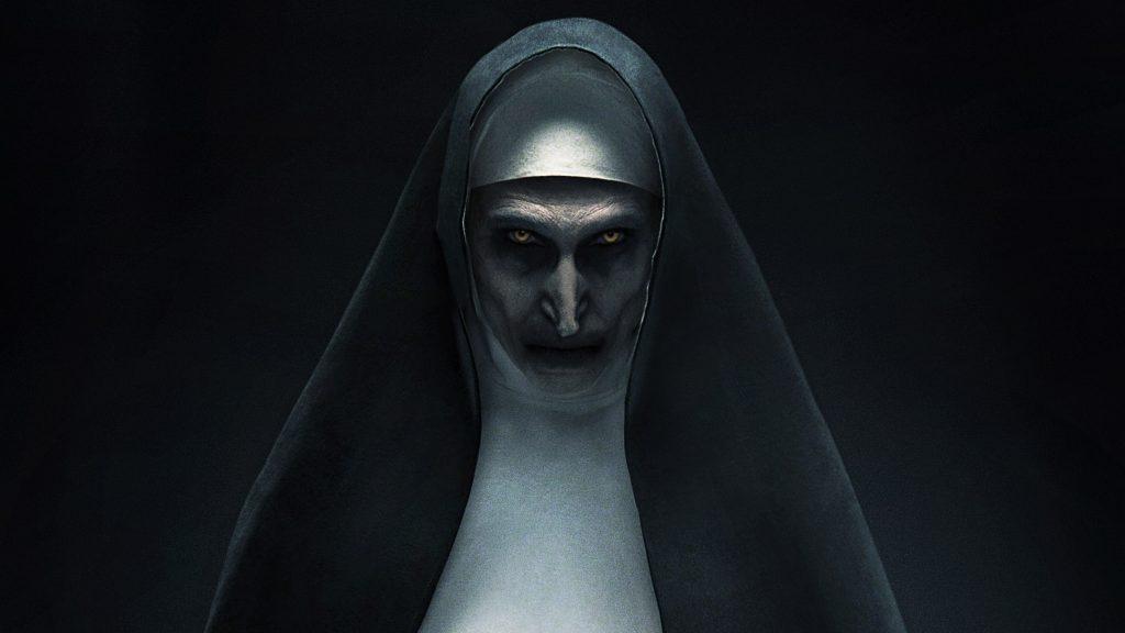 The Nun Movie Poster 4K Wallpaper