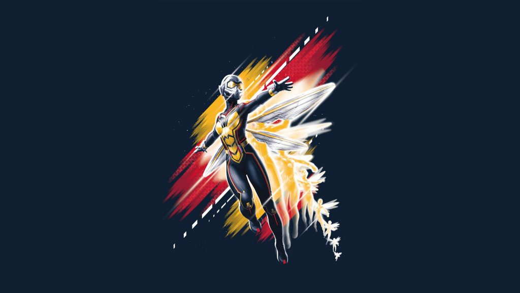 Wasp in Ant-Man and the Wasp Artwork 4K Wallpaper
