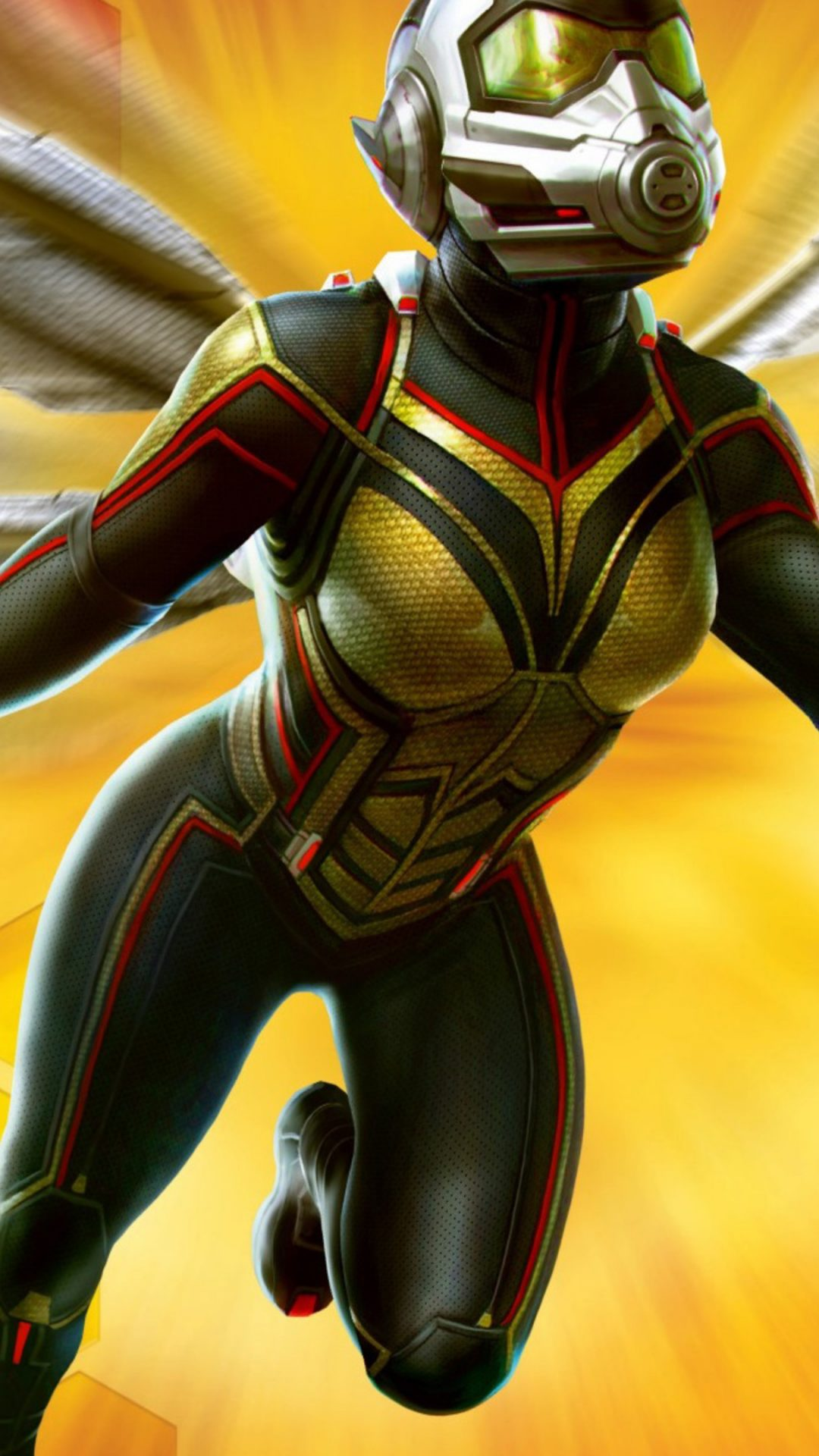 Wasp In Ant Man And The Wasp Movie 4k Wallpaper Best Wallpapers