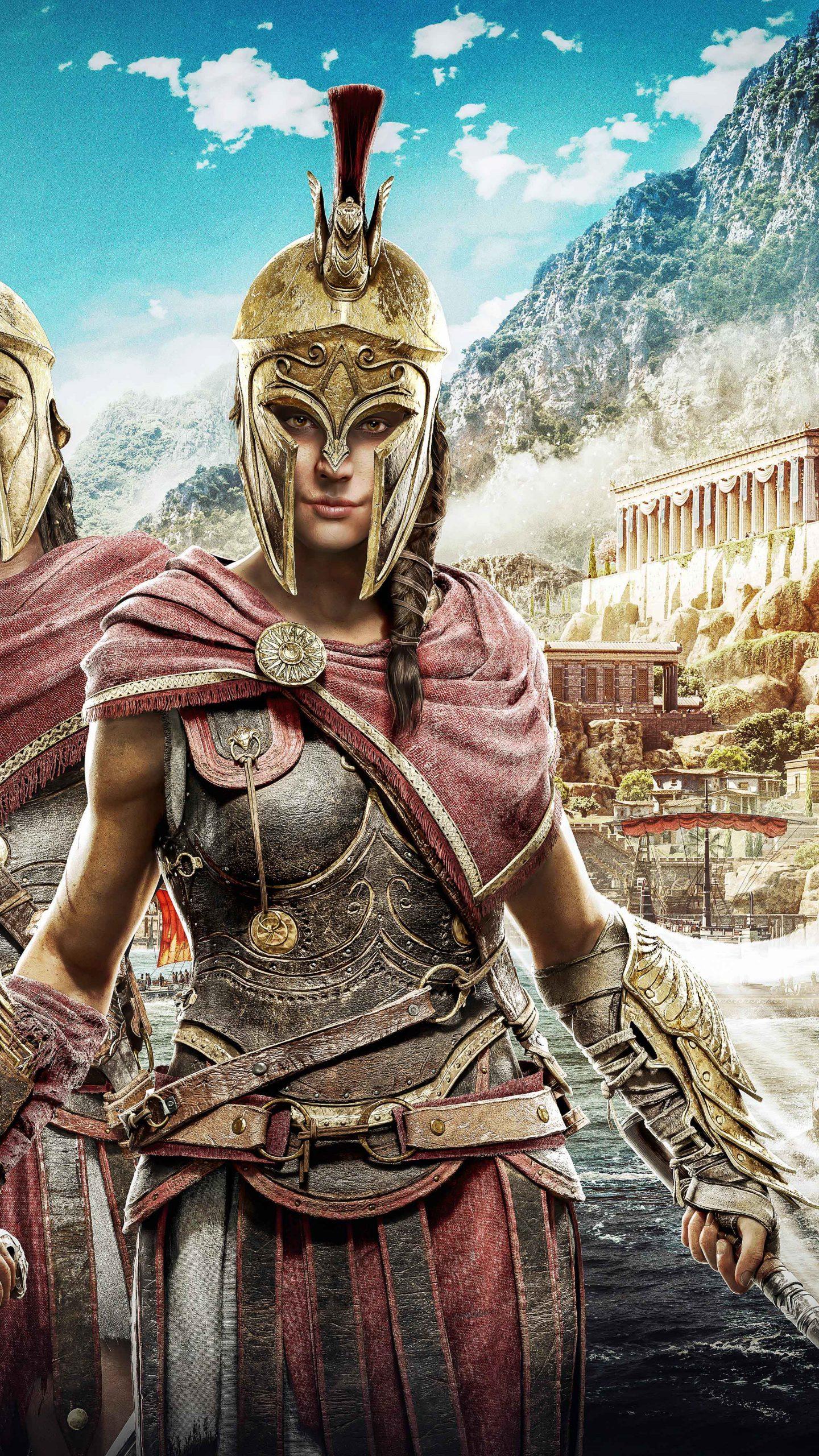 Alexios And Kassandra Assassins Creed Odyssey 8k Wallpaper Best