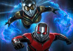 Ant-Man and the Wasp Blue 4K Wallpaper