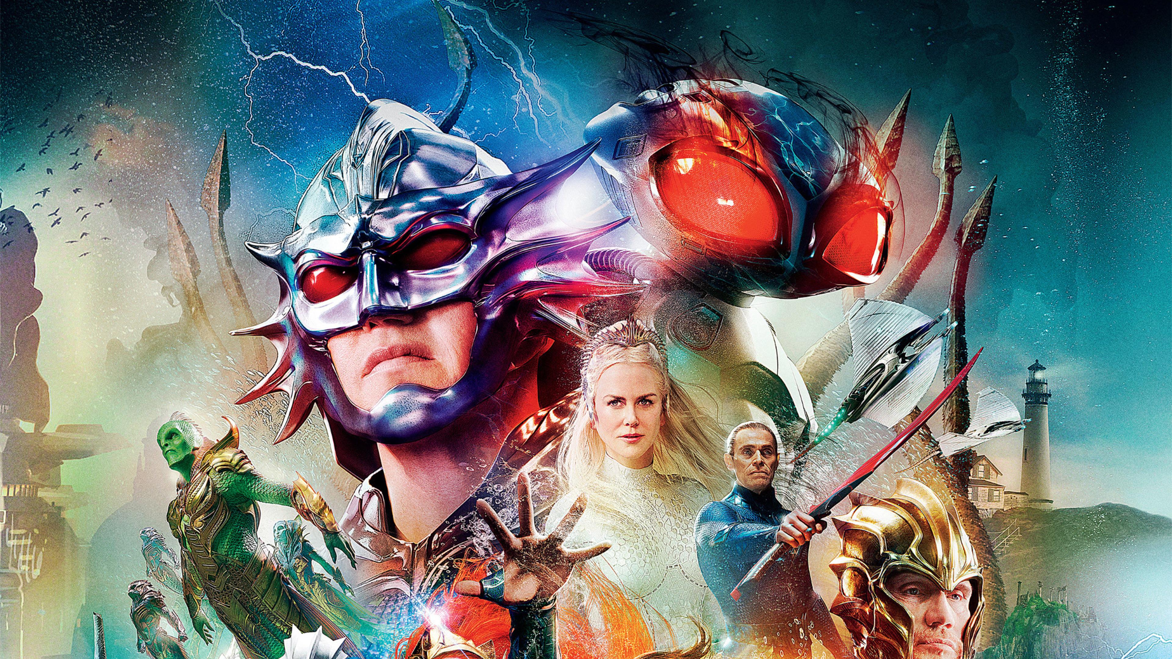 Aquaman 2018 Movie Cover Poster 4k Wallpaper Best Wallpapers