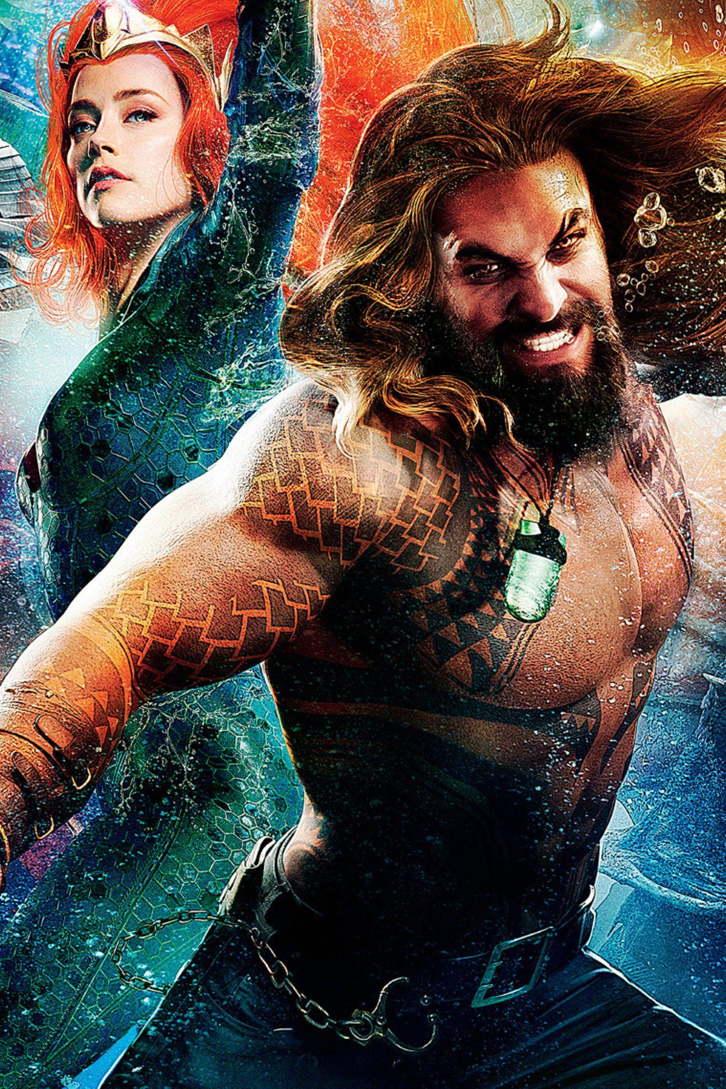 Aquaman 2018 Movie Poster 4K Wallpaper - Best Wallpapers
