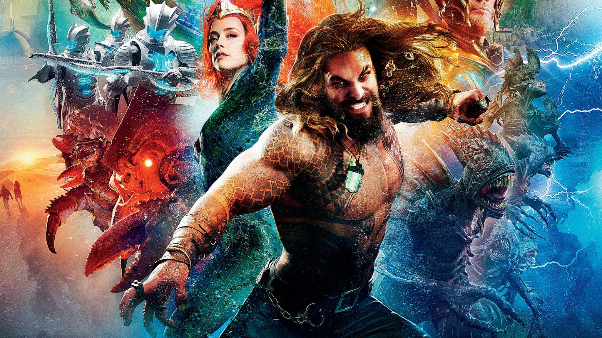 Aquaman 2018 Movie 4k Wallpapers: Aquaman 2018 Movie Poster 4K Wallpaper