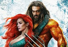 Aquaman and Mera Art 4K Wallpaper