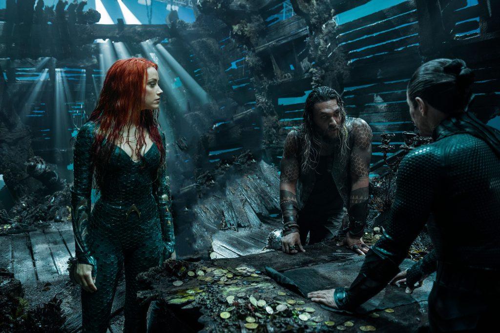 Aquaman and Mera Movie 2018 5K Wallpaper