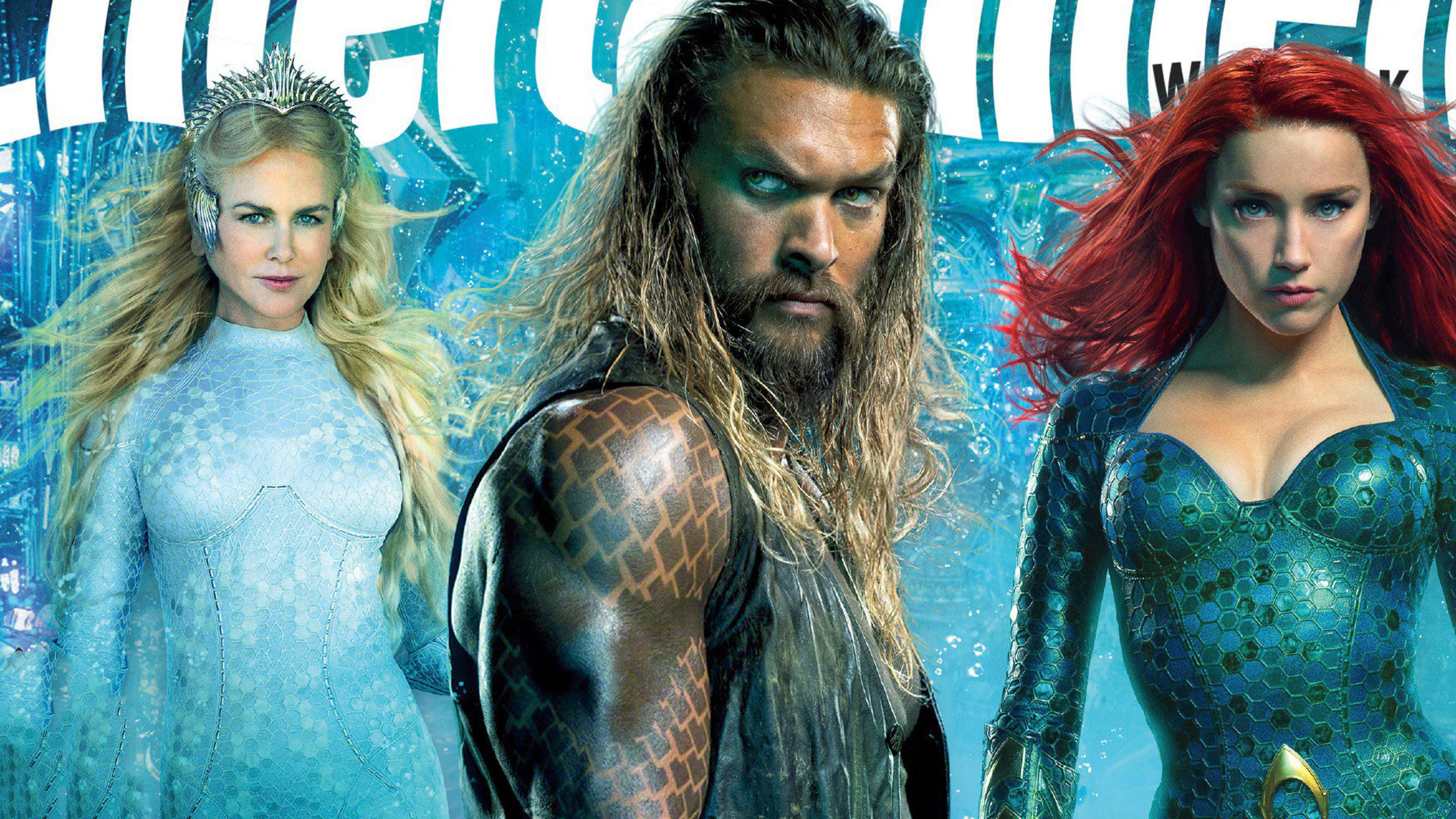 Aquaman Mera Queen Atlanna Movie 2018 4k Wallpaper Best Wallpapers