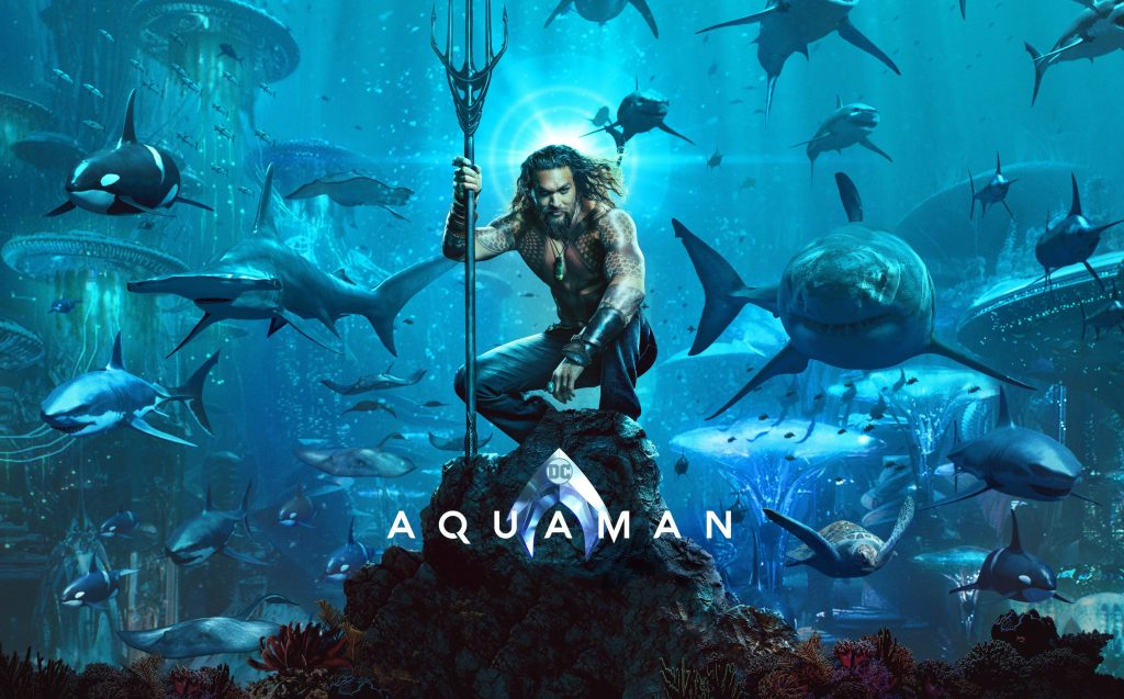 Aquaman Movie 2018 4K Wallpaper