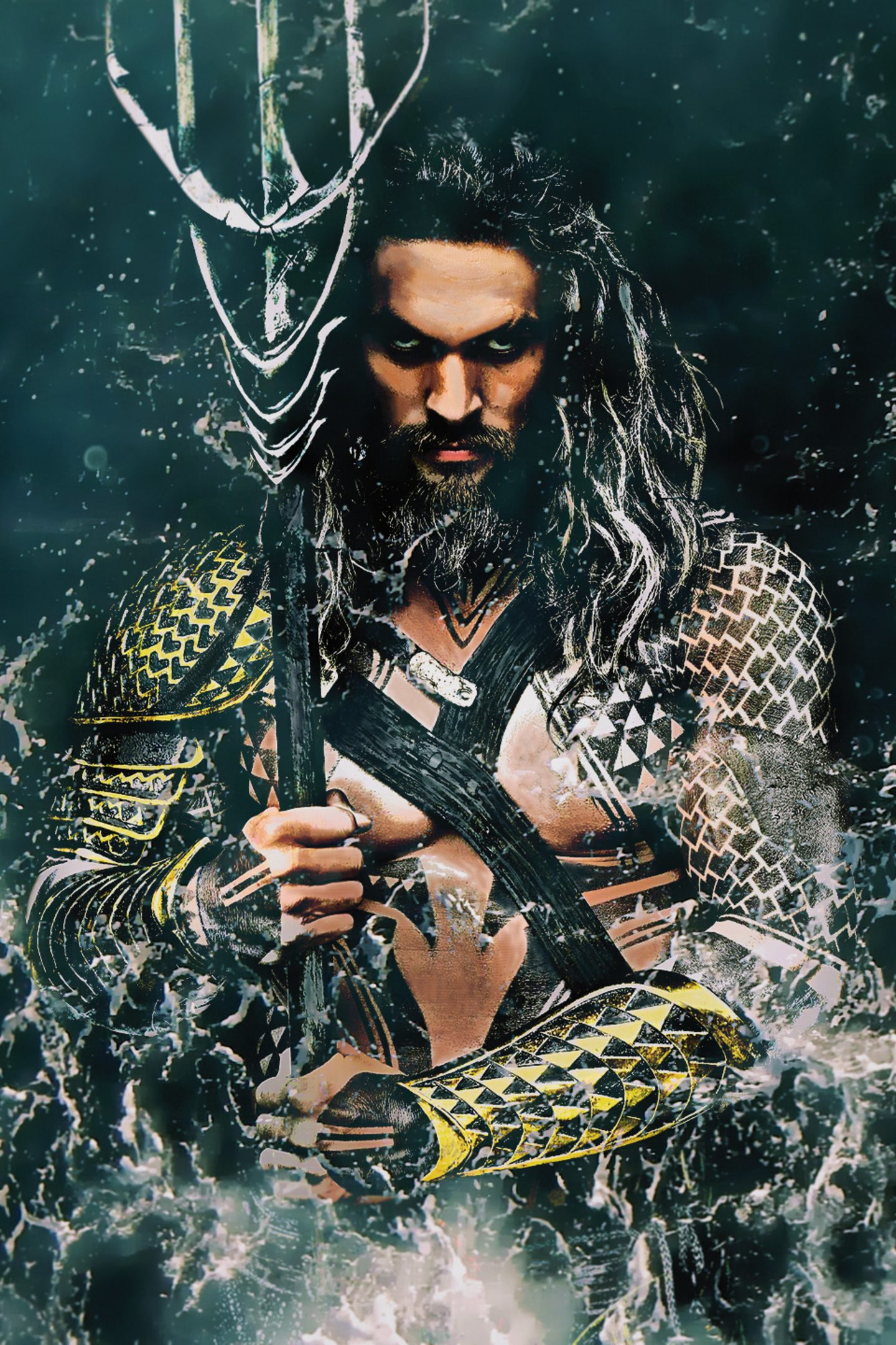 Aquaman Movie 2018 Jason Momoa 4k Wallpaper Best Wallpapers