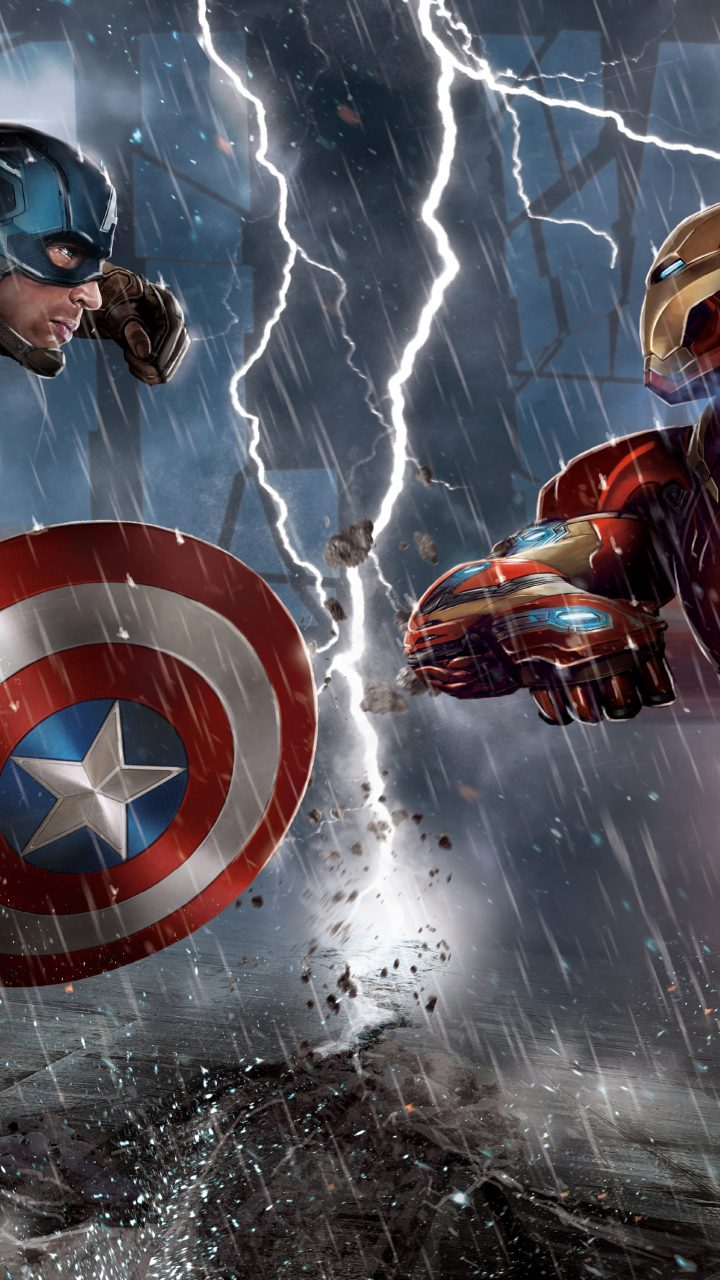 Civil War Captain America Vs Iron Man 5k Wallpaper Best Wallpapers