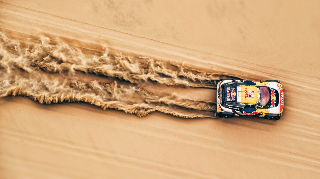 Desert Car Rallying Sand 4K Wallpaper