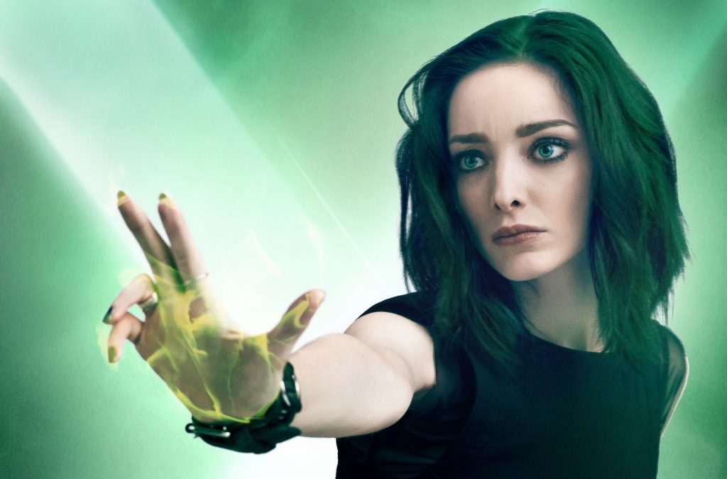 Emma Dumont in the Gifted 5K Wallpaper