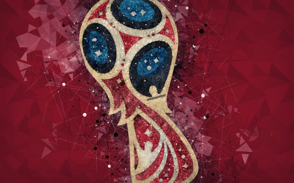 Fifa World Cup Russia 2018 Logo 4K Wallpaper