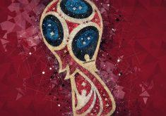 Fifa World Cup Russia 2018 Logo 4K Wallpaper