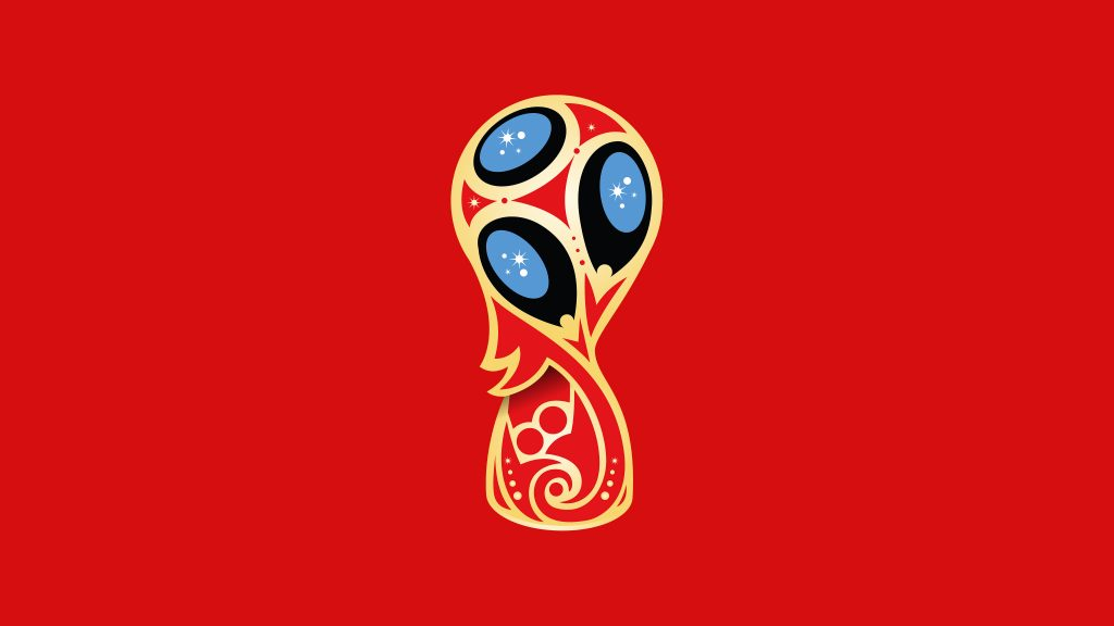 Fifa World Cup Russia 2018 Minimal 5K Wallpaper