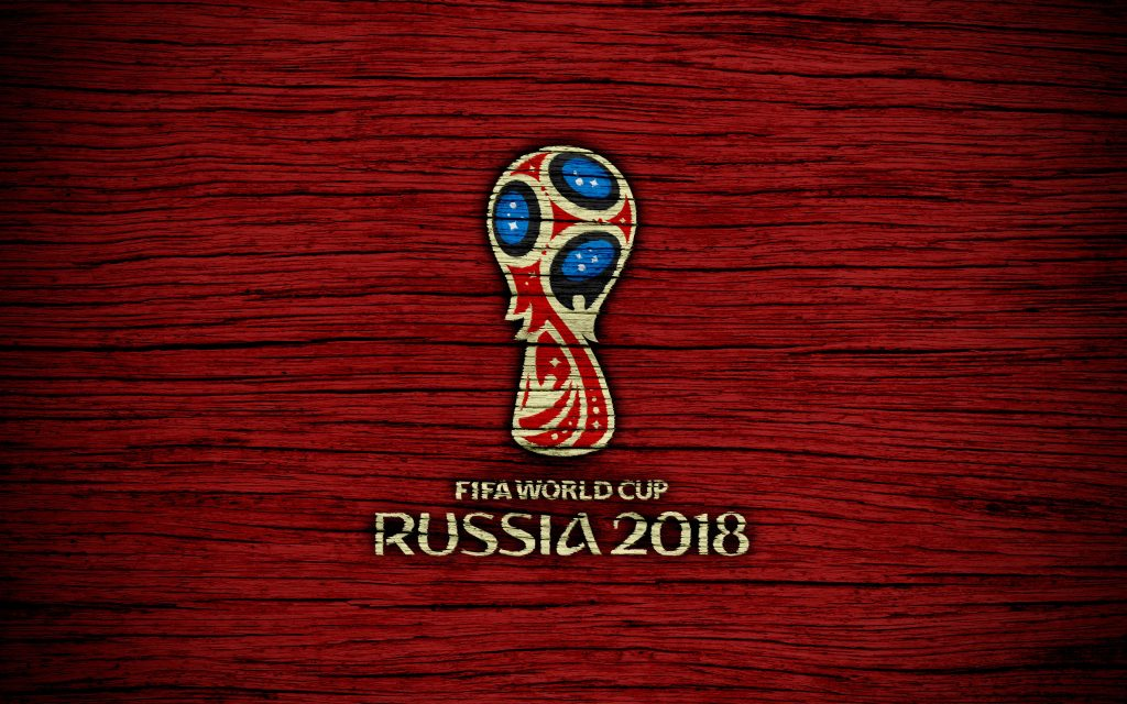 Fifa World Cup Russia 2018 Red Wooden 4K Wallpaper