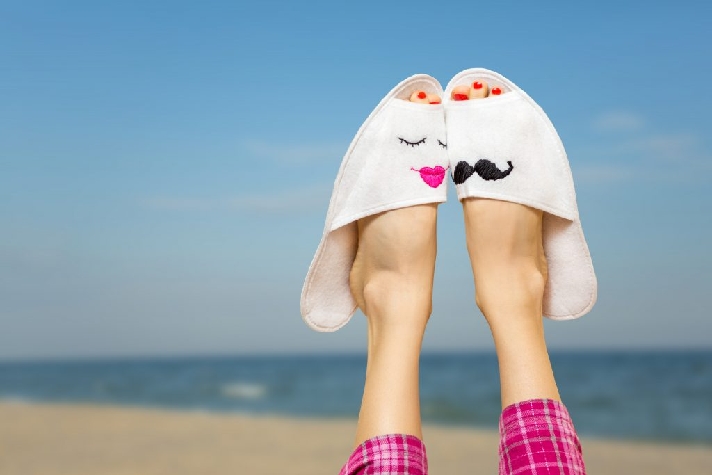 Foot Love Cute 5K Wallpaper