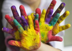Hands Painted Colorful 4K Wallpaper