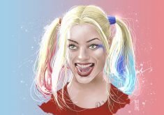 Harley Quinn Artwork 5K Wallpaper