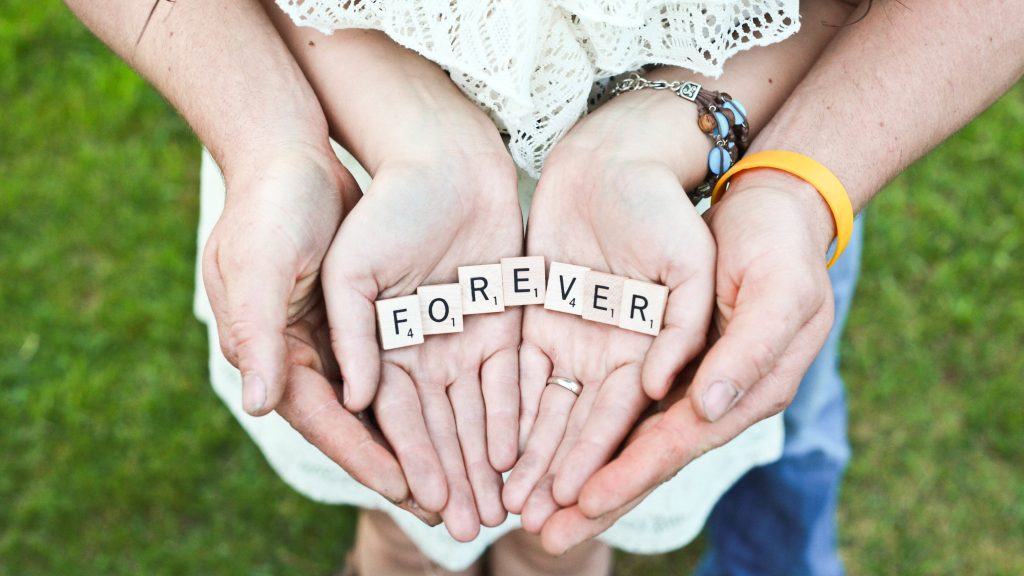 Holding Hands Couple Love Forever 5K Wallpaper